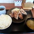 Photos: からやま コンソメからあげ定食 ご飯大盛り\(^o^)/