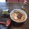 Photos: ソーキそば おにぎり(しゃけ)
