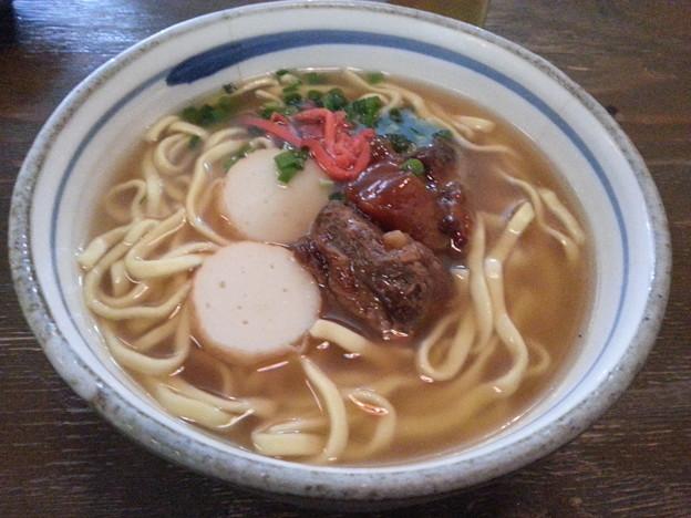 ソーキそば  美味しいデースo(^o^)o