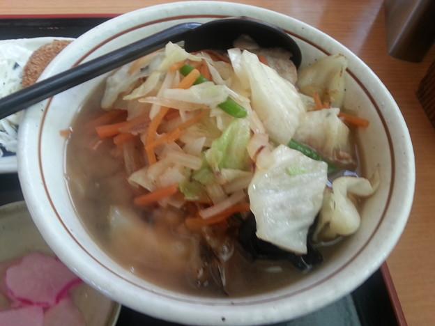 新しくなった野菜そば 美味しいo(^o^)o
