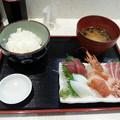 Photos: まぐろ亭の刺身定食 A定食 ご飯大盛り