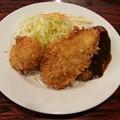 ハンバーグ 魚フライ カニクリームコロッケ
