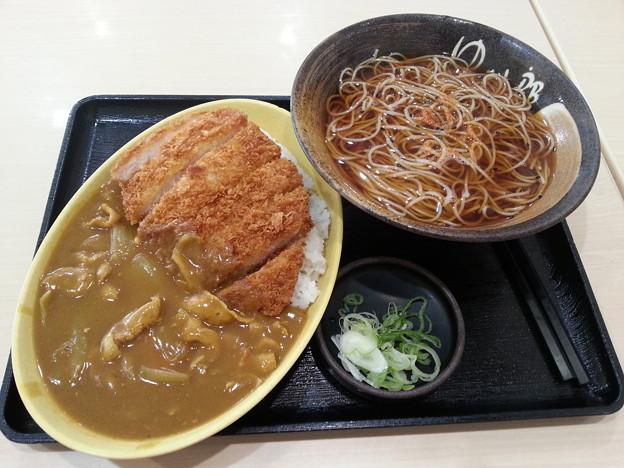 ゆで太郎  満腹カツカレーセット