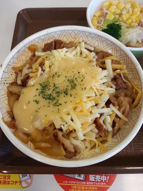 チーズ牛丼 美味しいo(^o^)o