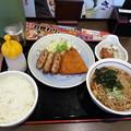 Photos: 山田うどん  日替わりセット ご飯大盛り