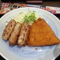 Photos: メンチカツ アジフライ美味しいo(^o^)o