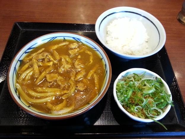 丸亀製麺 カレーうどん ご飯