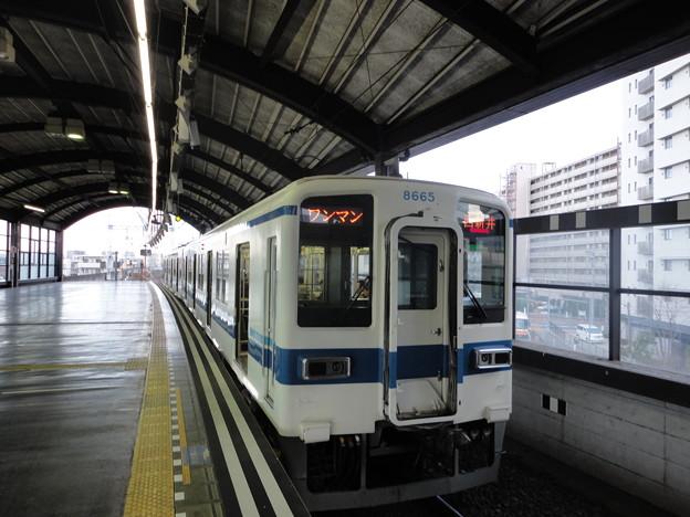 東武大師線  8000系ワンマン