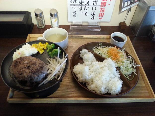 islesキッチン 至福のハンバーグ ランチ