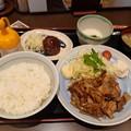 Photos: 山田うどん 生姜焼定食 ご飯大盛り