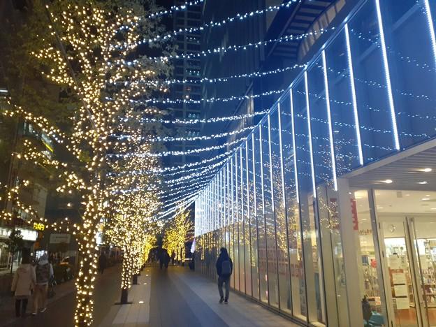 秋葉原 クリスマスイルミネーション