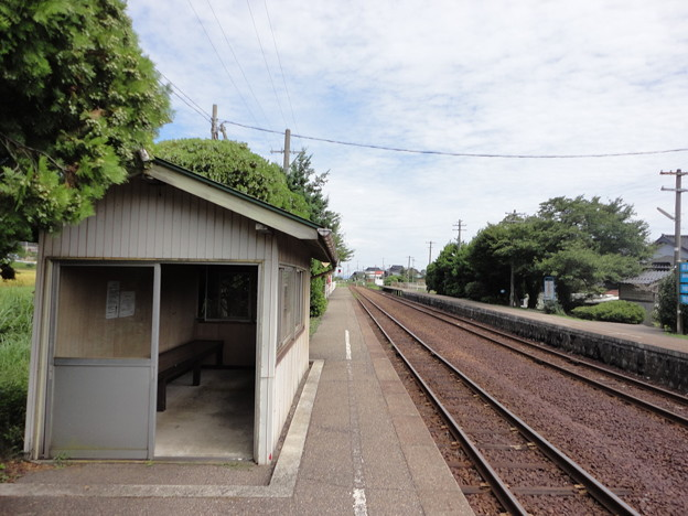 花咲くいろは 聖地巡礼 西岸駅