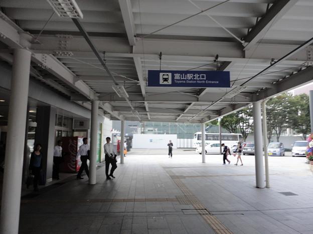 ゆるゆり 聖地巡礼  旧富山駅