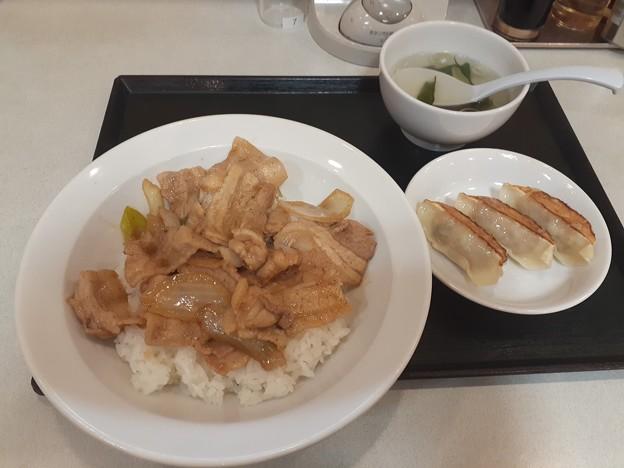 東秀 豚焼肉丼ランチセット