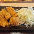 チキンカツと竜田揚げ