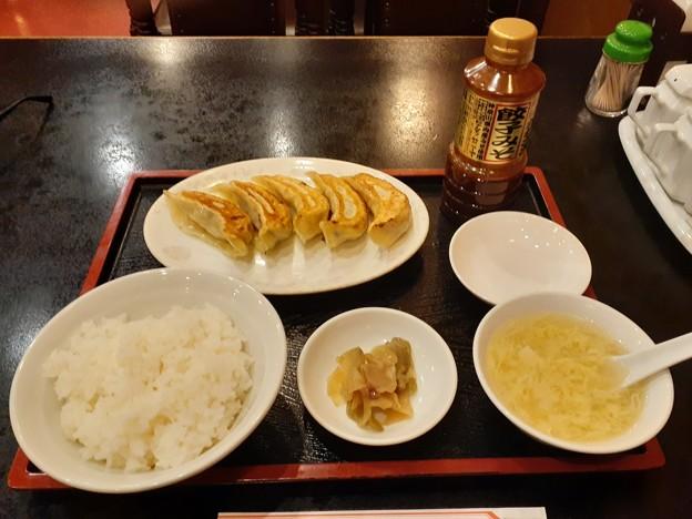 川崎 太陽軒 餃子ライスセット