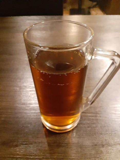 食後のウーロン茶