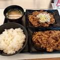 吉野家 牛皿 カルビ定食 ご飯おかわり無料