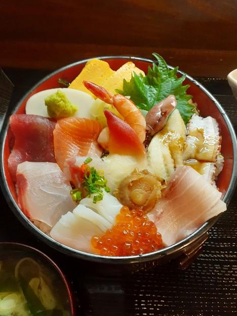 海鮮丼 美味しそう\(^-^)/