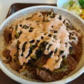 Photos: 高菜明太マヨ牛丼 まあまあ美味しい
