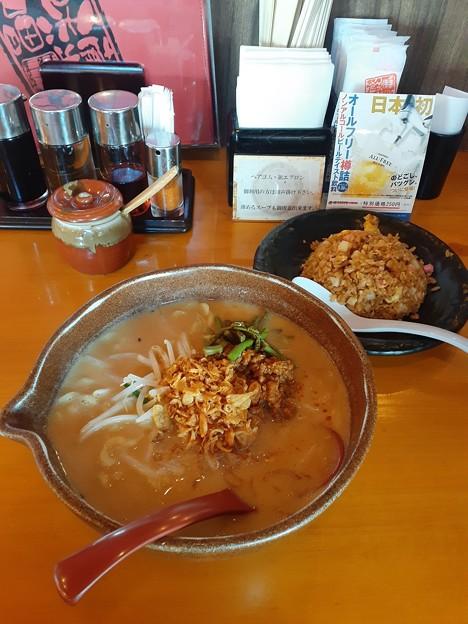 田所商店 信州味噌らーめん ミニ味噌チャーハン