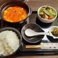 Photos: スンドゥブチゲ定食 ご飯大盛り