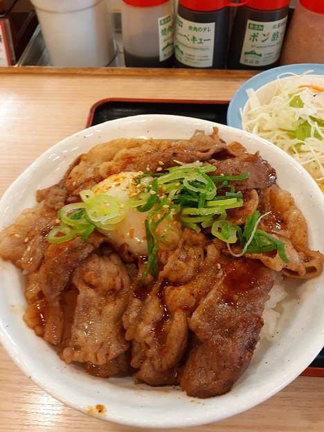 Photos: 焼き牛めし 美味しい(^_^)v