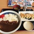 Photos: 山田うどん 辛口カレー ご飯大盛り 餃子