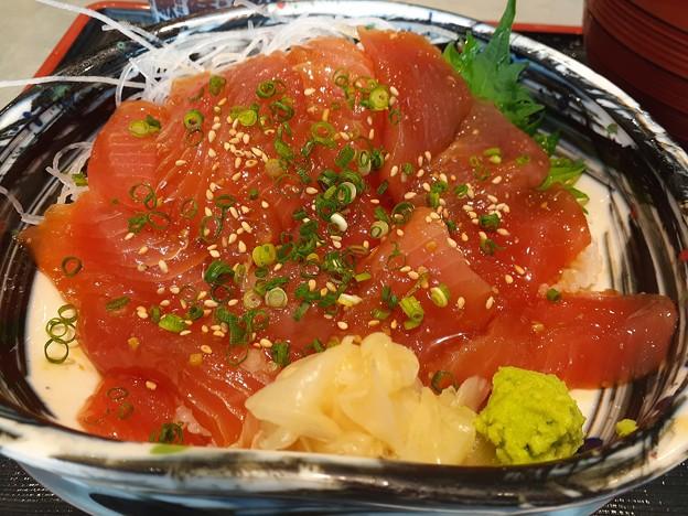 まぐろヅケ丼 美味しいですo(^o^)o