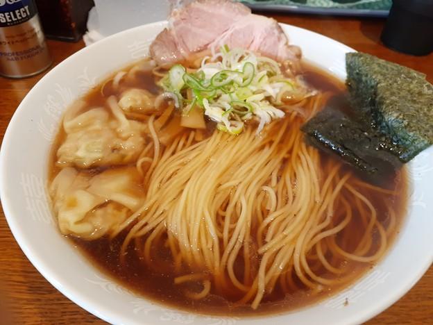 Photos: 醤油ワンタン麺 あっさりして( ゚Д゚)ウマー