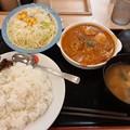 Photos: 松屋 バターチキンカレー ライス大盛り 野菜セット