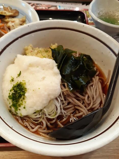 Photos: 冷やしとろら蕎麦 完成です( ≧∀≦)ノ