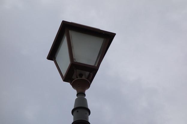 球詠 聖地巡礼 大相模調整池 街路灯