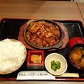Photos: 青森B級グルメ 十和田バラ焼き定食 ご飯大盛り