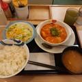 Photos: 松屋 エビチリ定食 ライス大盛り無料