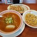 Photos: 幸楽苑 ランチDセット 味噌ラーメン 半チャーハン 餃子