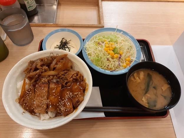 味噌 トンテキ牛めし 野菜セット