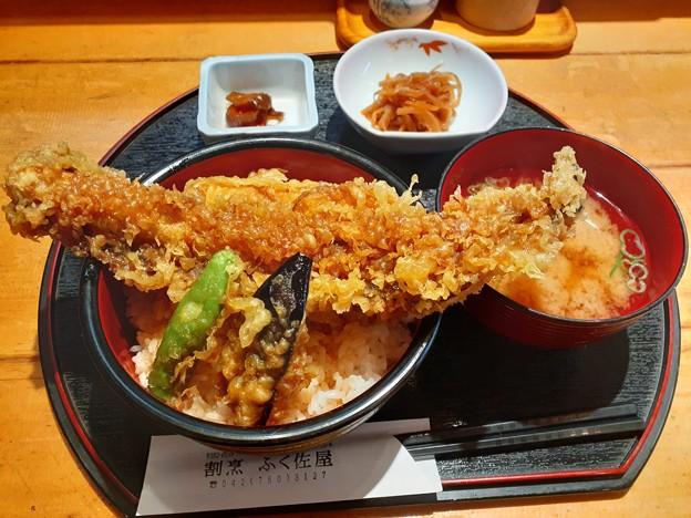 穴子天丼 ご飯大盛り