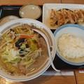 Photos: 山田うどん タンメン 餃子無料クーポン ライス