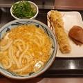 Photos: 丸亀ランチ 玉子あんかけセット