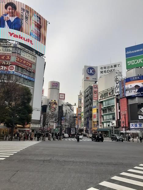 渋谷 スクランブル交差点