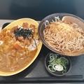 Photos: ゆで太郎  カレーかつ丼セット