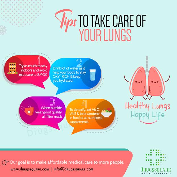 肺の世話をするための4つの簡単なヒント