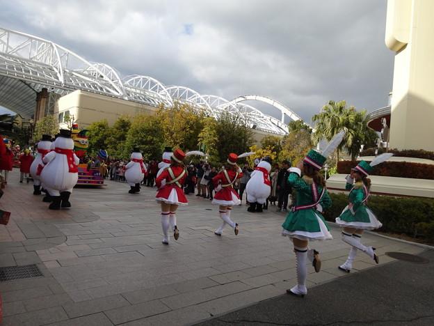 2019.1.3USJ Minions HACHA-MECHA Christmas Party