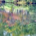写真: 水彩湖