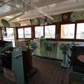 写真: 海王丸操舵室
