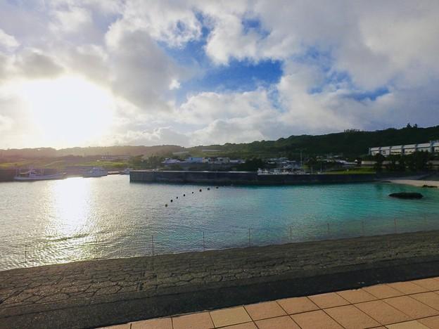 喜界島の朝陽