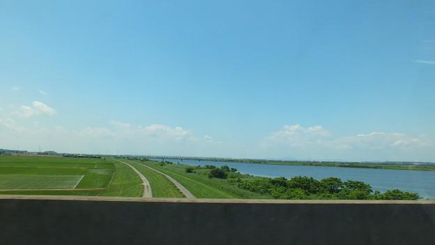 千葉 茨城県境付近の田園風景