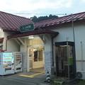Photos: 山梨県 富士急行 三つ峠駅 前 丸ポスト2 NO.0002 山梨県 001