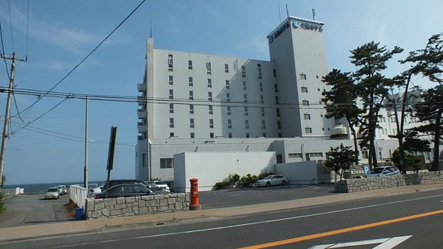 2014年6月撮影 大洗ホテル前 丸ポスト NO. 006 茨城県 004